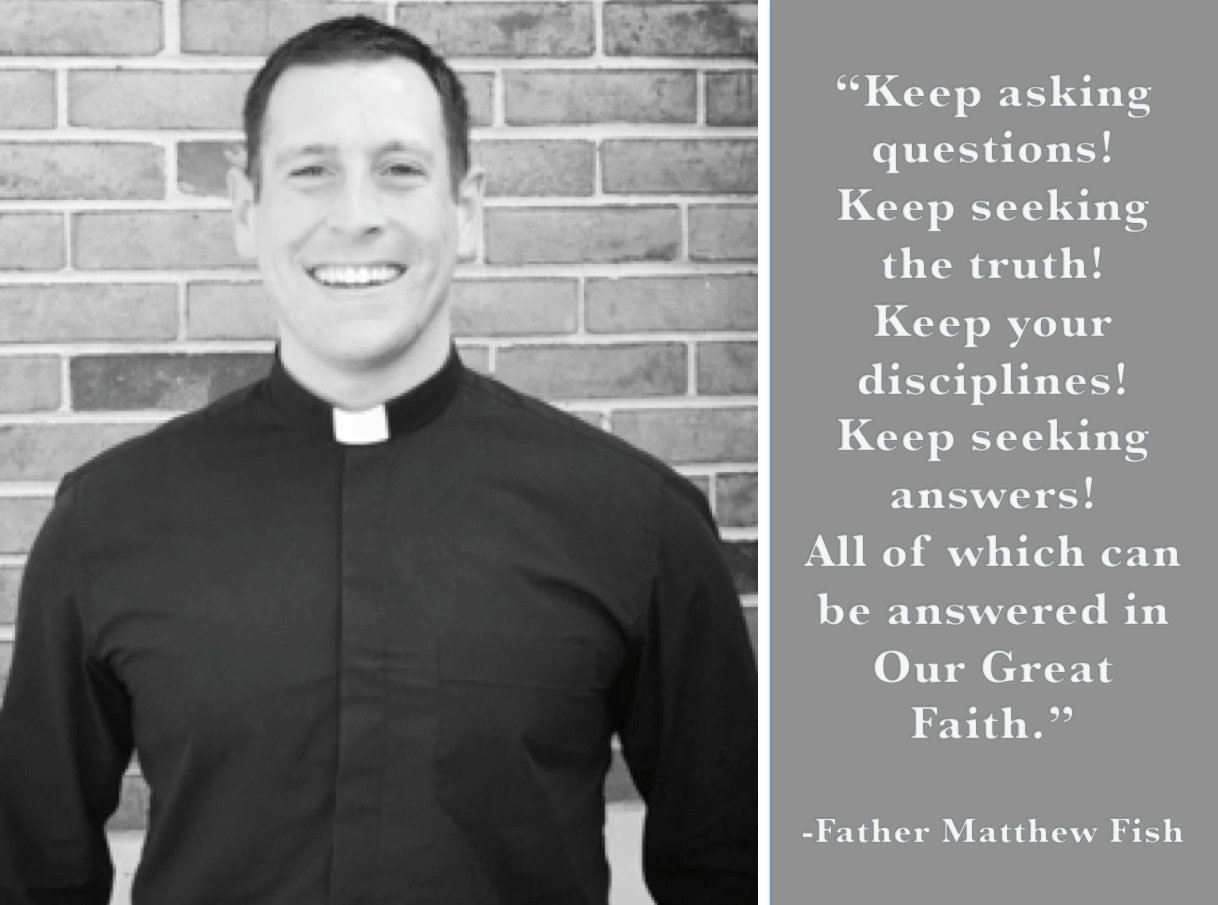 #catholicedchat #adwteach Great words for our students from our opening of school mass presided by @matthewjfish. https://t.co/gcTJMItINX