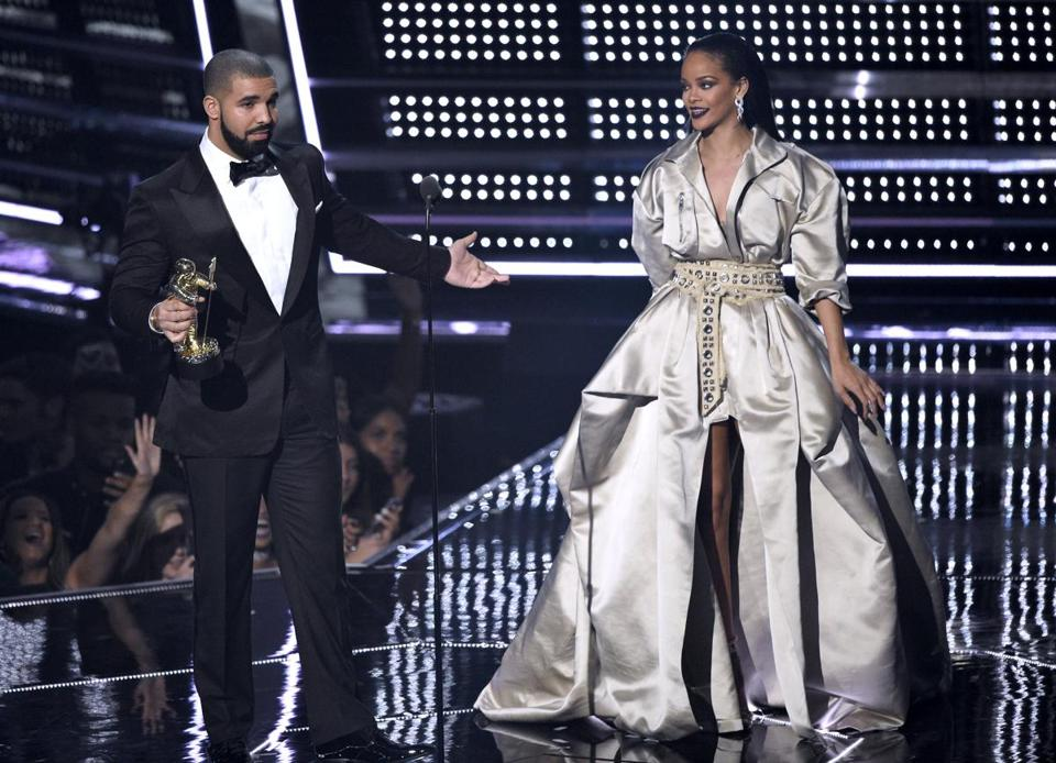 Drake went in. Rihanna leaned back. Twitter was all over it. VMAs