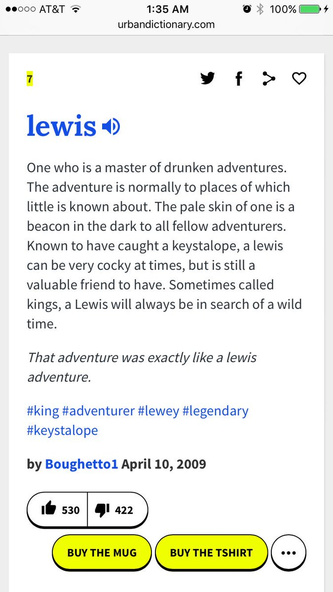 you know this urban dictionary