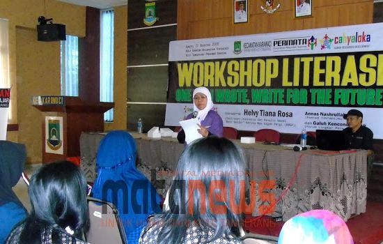 Embrio Gerakan Indonesia Menulis Diawali dari Tangerang