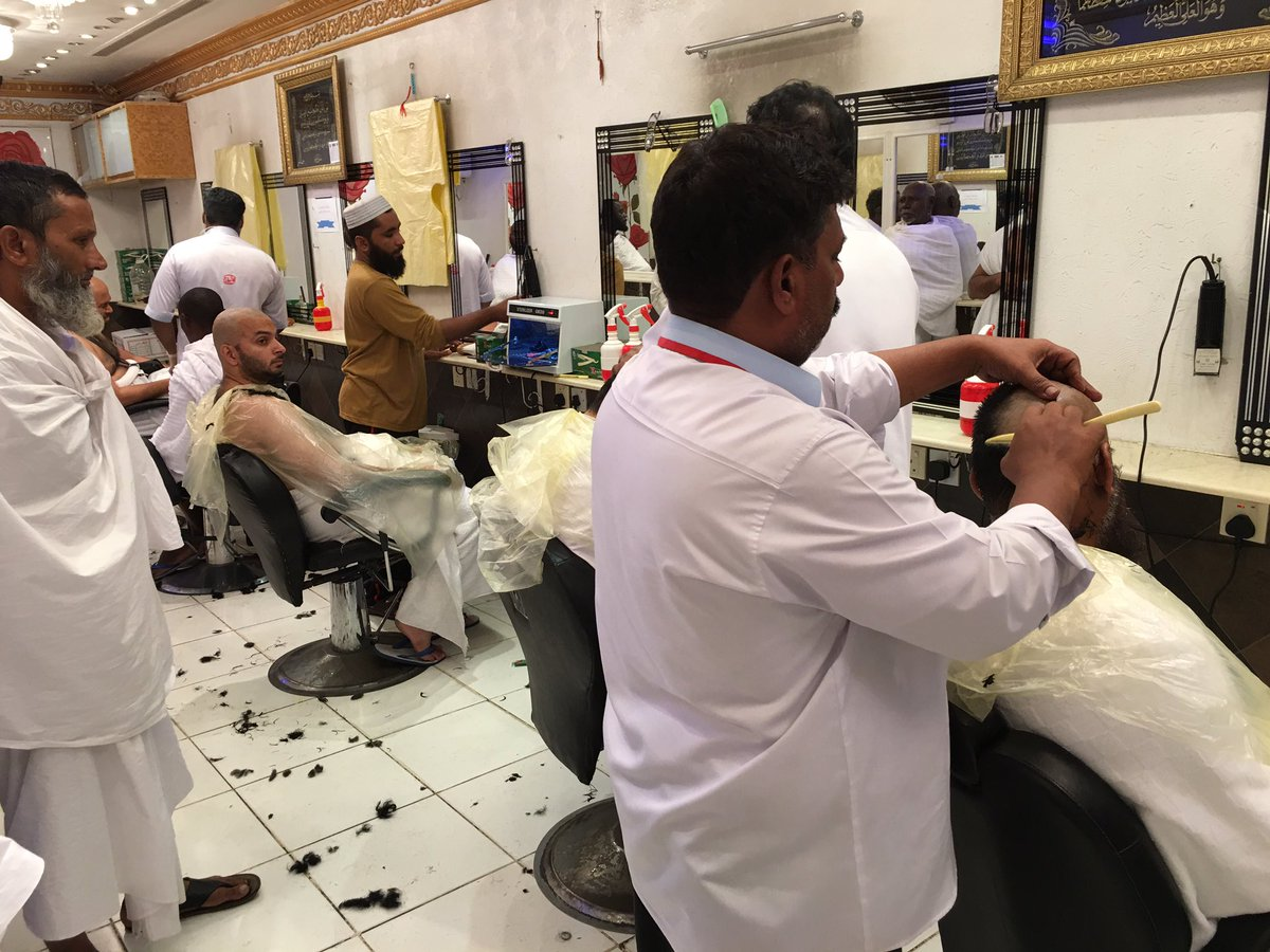 """Yusuf Abramjee on Twitter: """"Shaving or cutting the hair is an"""