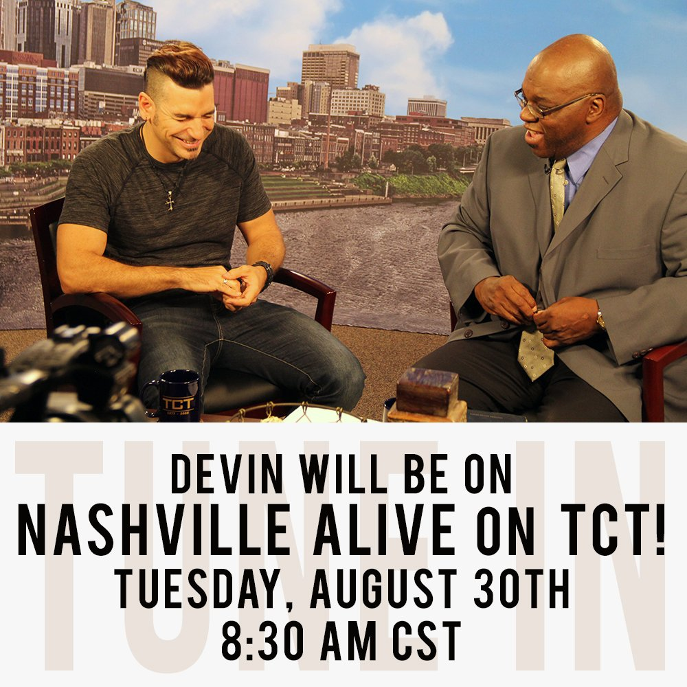 Make sure you tune your TV to @TCTTV tomorrow morning at 8:30am (CST)! I'll be on Nashville Alive w/ @dralvinjones! https://t.co/CsAf3IHX71