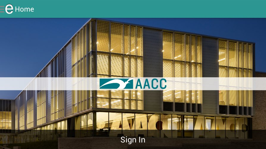 Aacc On Twitter Need A Campus Map We Have An App For That