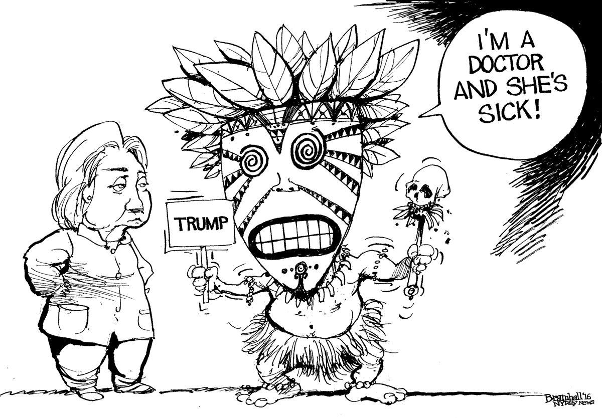 Today's @BillBramhall cartoon | SEE MORE