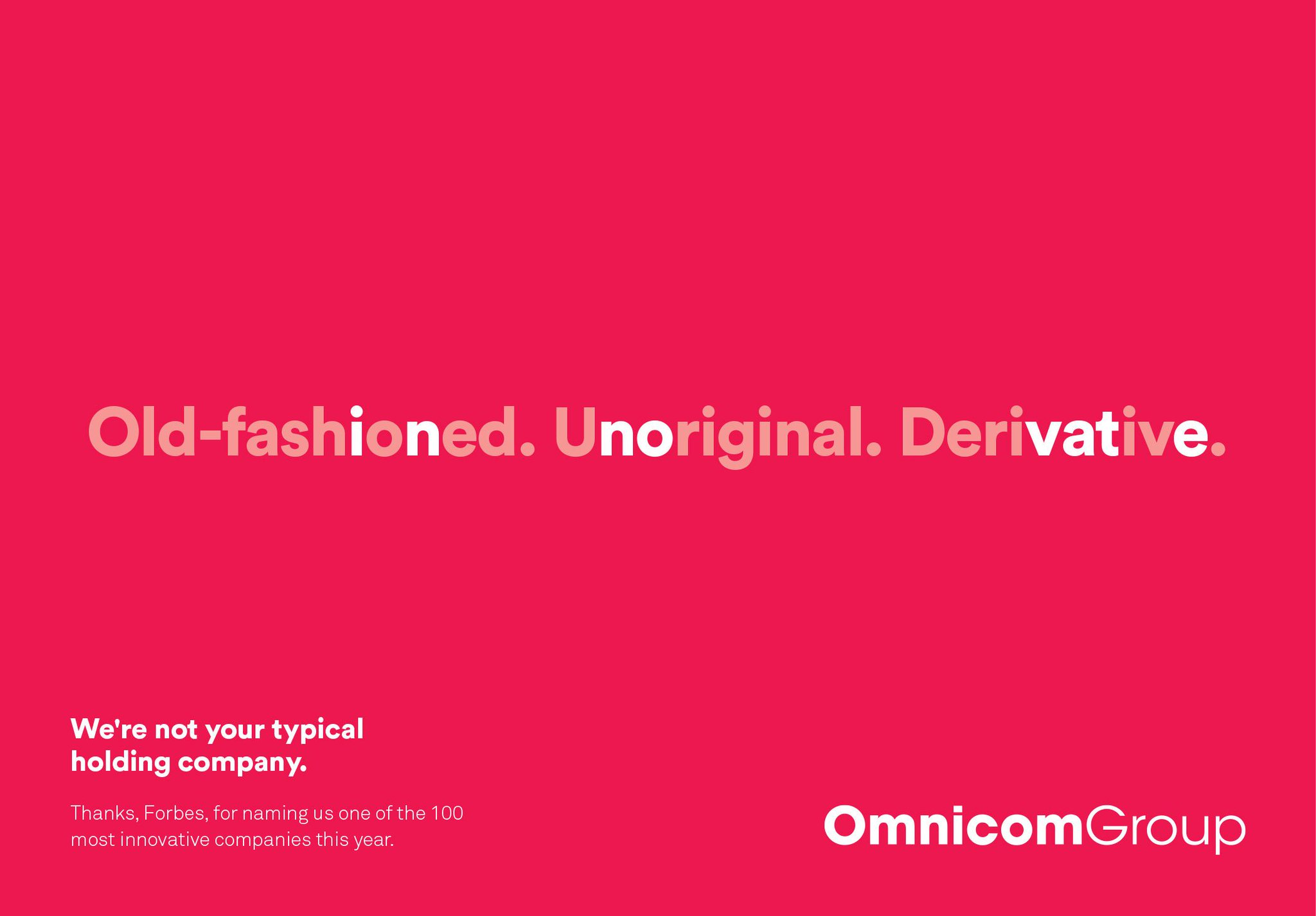 RT @OMD_Worldwide: Congratulations to our friends at @Omnicom! Proud to be part of the family! https://t.co/kUtCNJYSUa