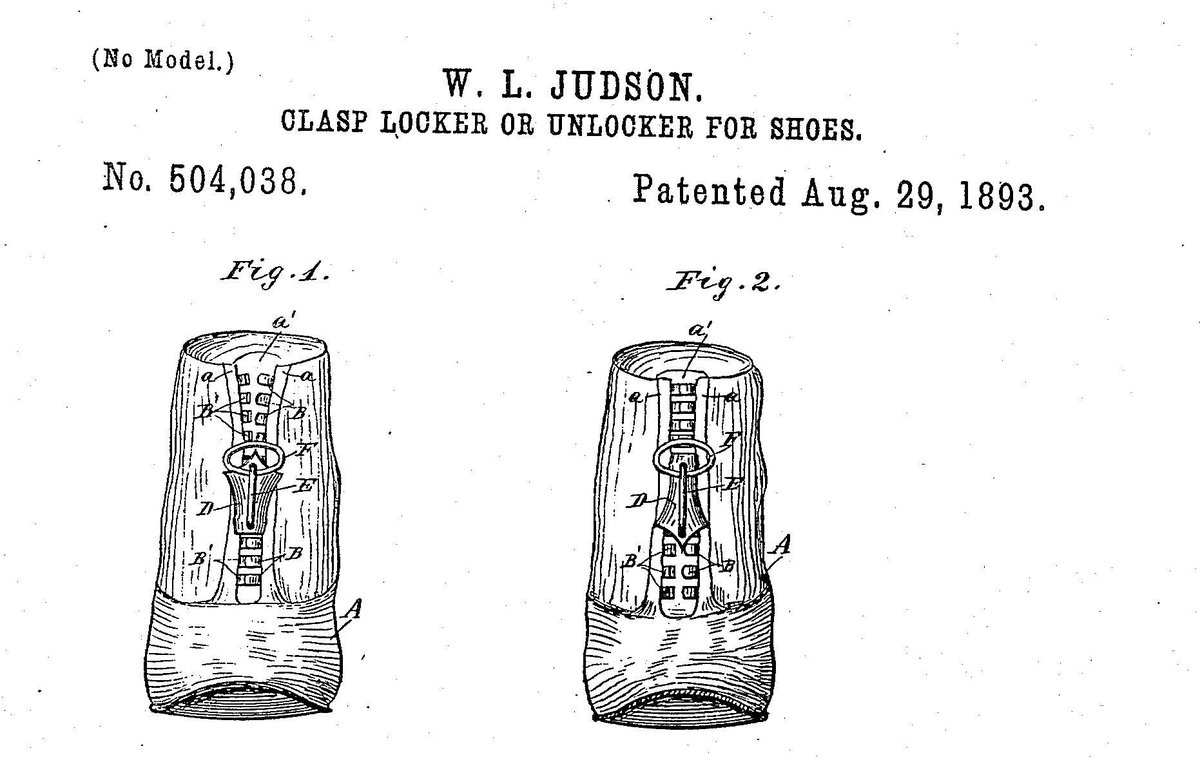 whitcomb judson zipper