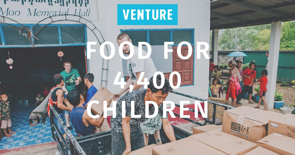 Venture's next container of @fmsc_org MannaPack meals will arrive in Thailand tomorrow! https://t.co/z4i0gyzZEA