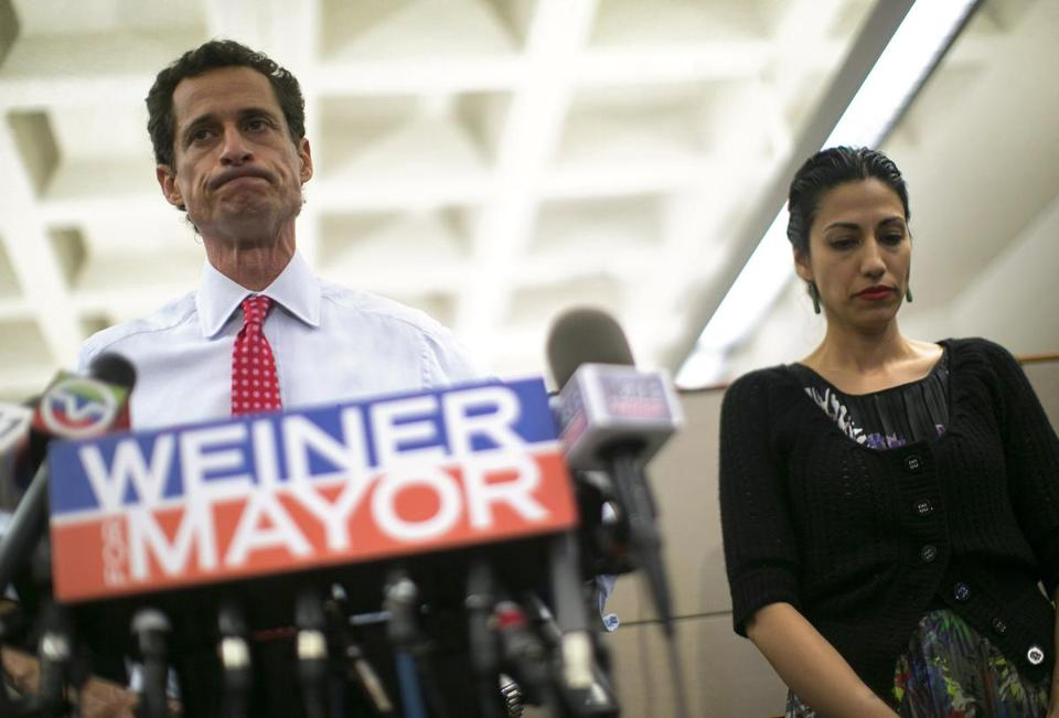 Hillary Clinton aide Huma Abedin separating from Anthony Weiner after latest sexting scandal