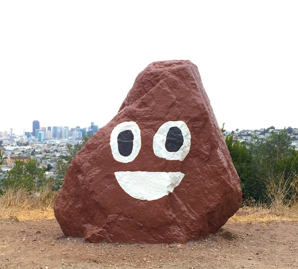 Bernal Rock Transformed Into Beloved Poop Emoji https://t.co/ikQ4ZJm2dl https://t.co/87AmhDavco