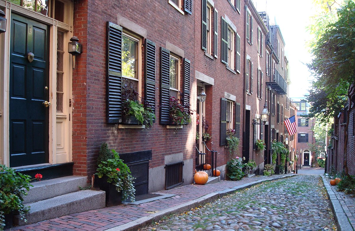 If you're prepared to fork over $13,000 a month, you can live on Acorn Street