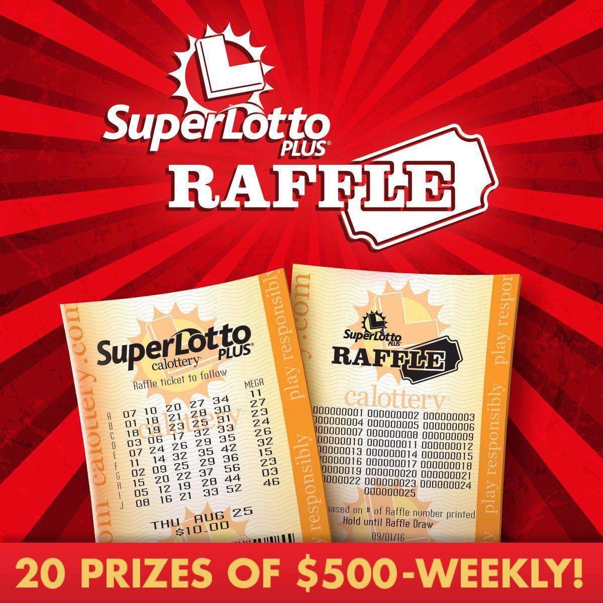 California Lottery on Twitter: