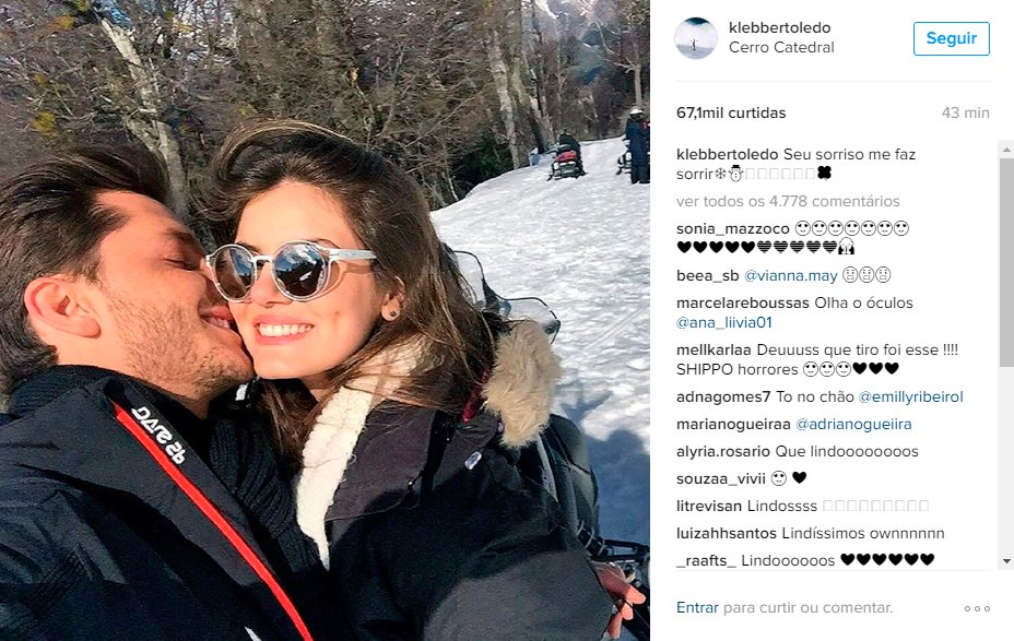 Klebber Toledo se declara para Camila Queiroz. Tá rolando? https://t.co/tG5BLinGra #MPN #capricho