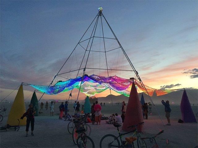 Black Rock City Rise On This Burning Man Live Stream