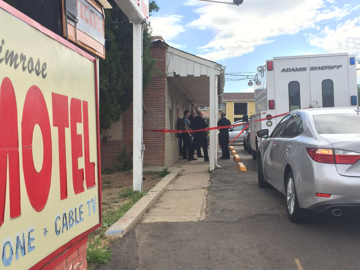 Confirmed death of 6-month-old child at Primrose Motel on N. Federal per @adamscountygov
