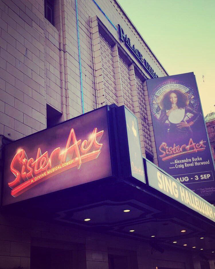 RT @MrDavidBurke: Great opening night of The @SisterActUKTour in Manchester! Massive congrats to @alexandramusic & cast! Bravo!!! 👏🏾 https:…