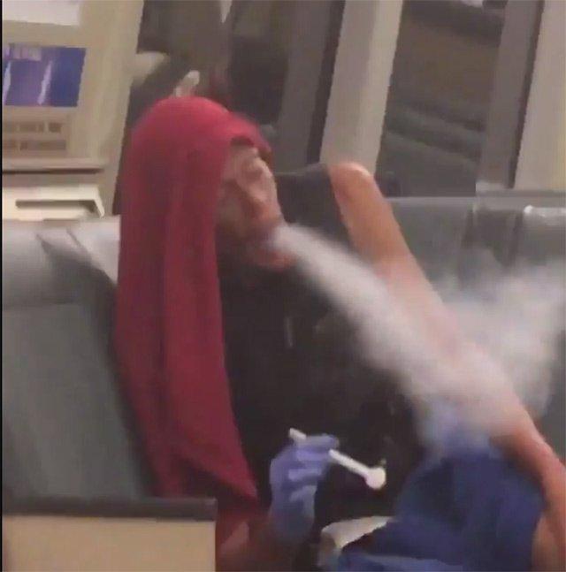 Pantless Man Smokes Crack On BART