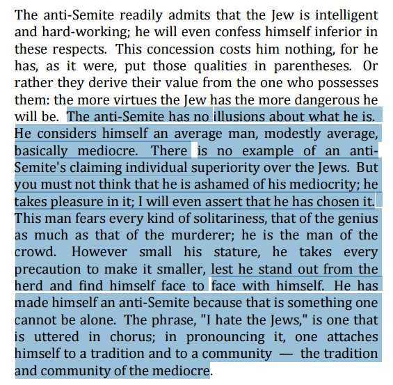 Sartre with a pretty good description of Trump's advisors, spokespeople, and alt-right supporters https://t.co/WGwyNTSRLe