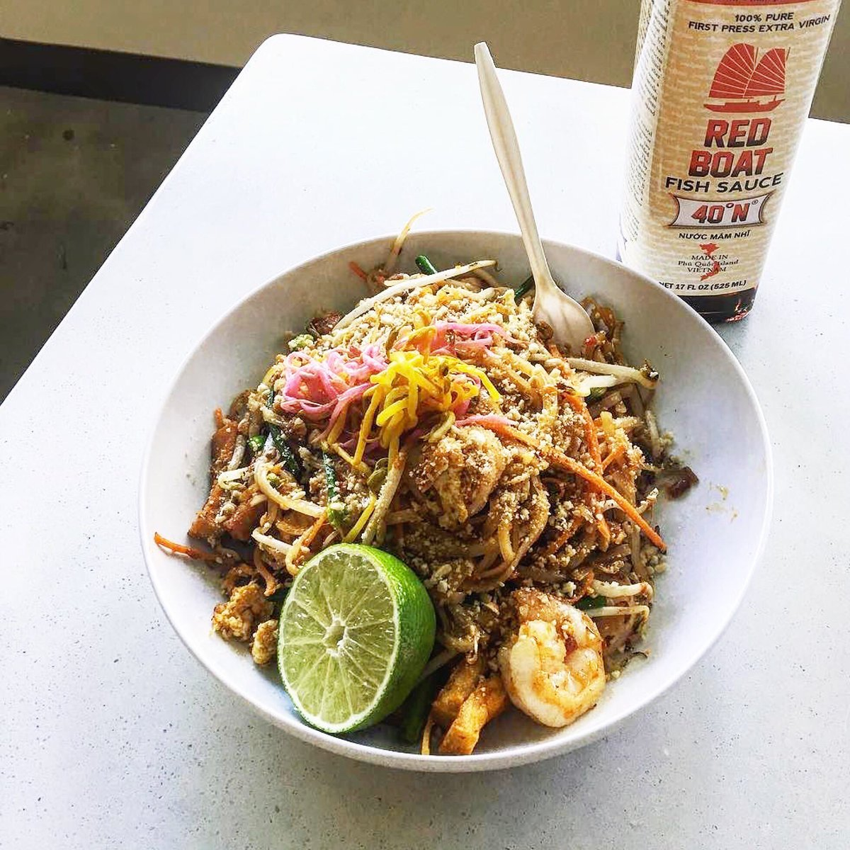 Malai Kitchen On Twitter Shrimp Pad Thai With Red Boat Is