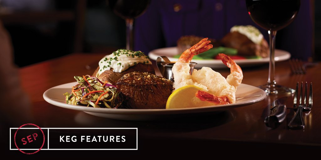 Twitter post: If you guessed Sirloin and Tempura Shrimp as…Read more. Opens full post in an overlay