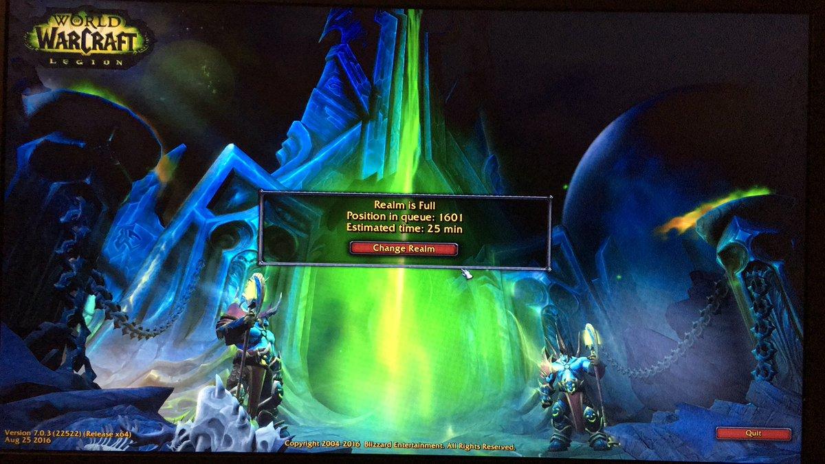 Happy Legion Day @Warcraft Fans! Let the ding race begin! #ForTheHorde