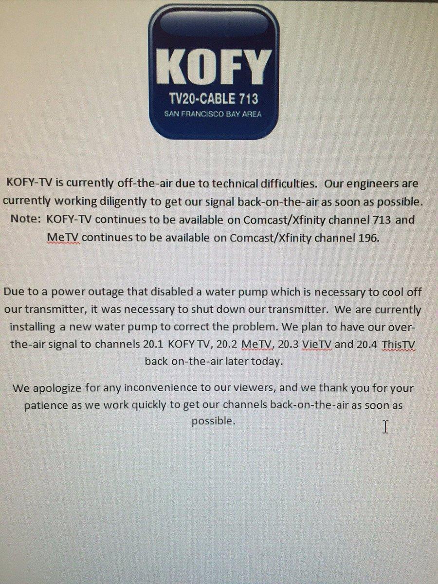 KOFY TV on Twitter: