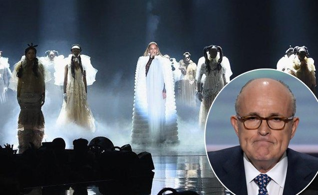 Furious at the VMAs, Rudy Giuliani says he's