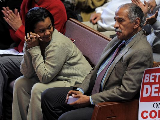 @RepJohnConyers and wife Monica Conyers renew vows amid divorce case