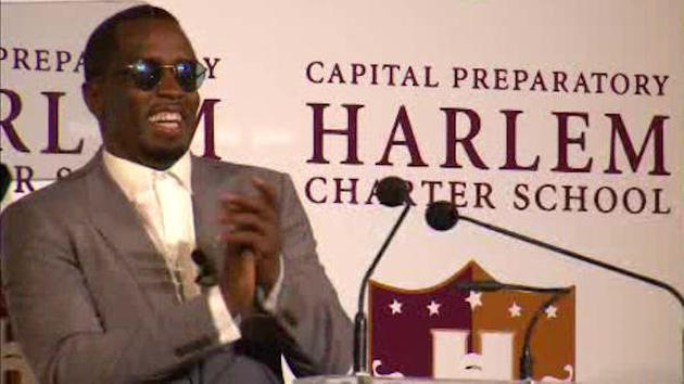 Sean 'Diddy' Combs opens charter school in Harlem