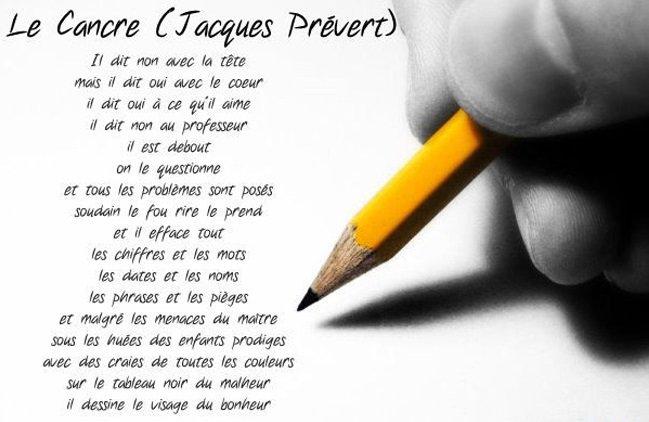 Mª José On Twitter Le Cancre Jacques Prévert Fle Poème