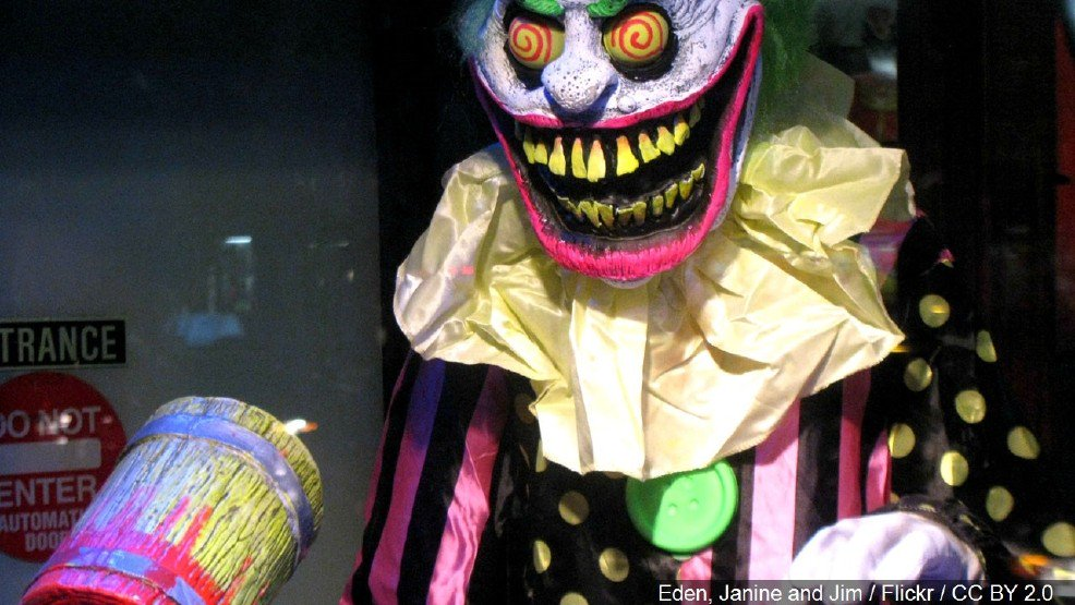 Police investigating after reports of clowns attempting to 'lure children into the woods'-
