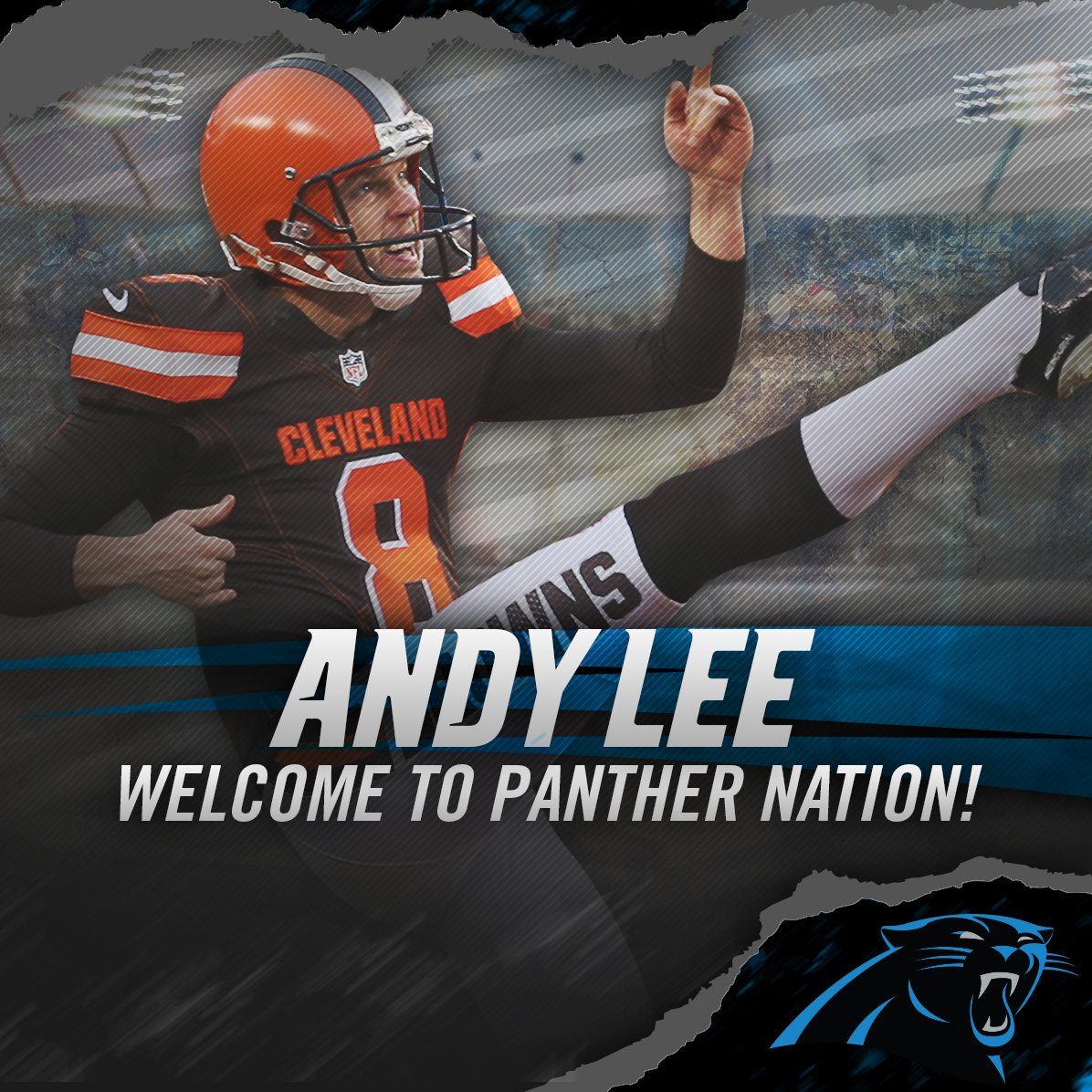 andy lee browns jersey