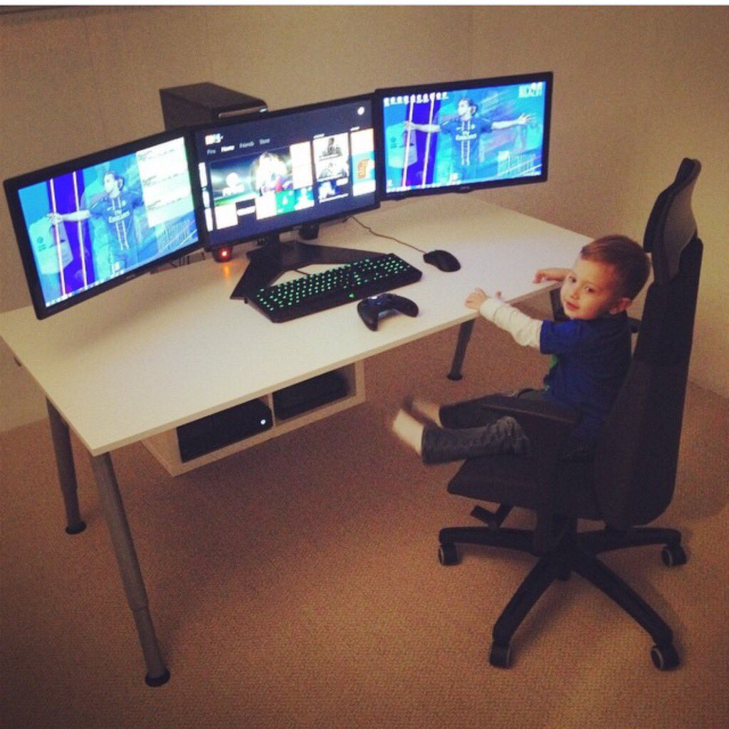 Ninja On Twitter That Is The Cleanest Setup In The Universe