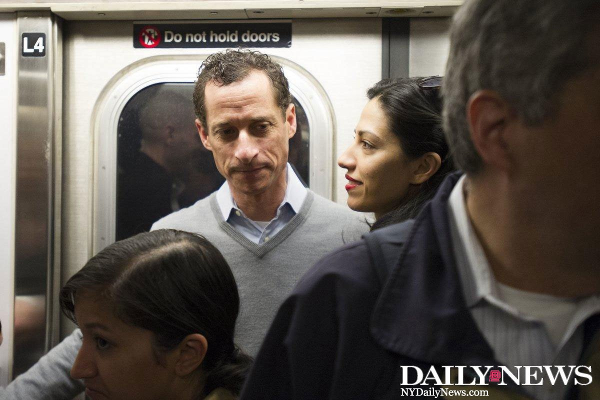 Anthony Weiner's sext showing his son could mean a child neglect investigation next