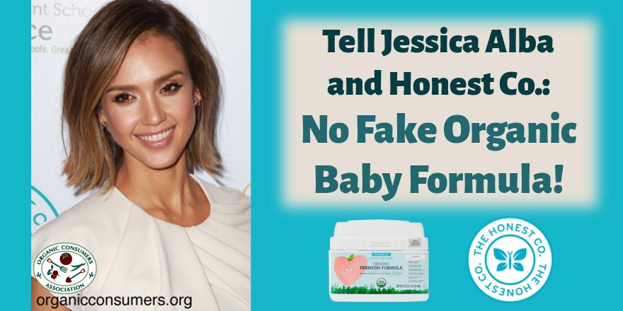 """If you bought """"Premium #Organic"""" infant formula sold by The @Honest Co., you were deceived! https://t.co/LIHpr6GPcM"""