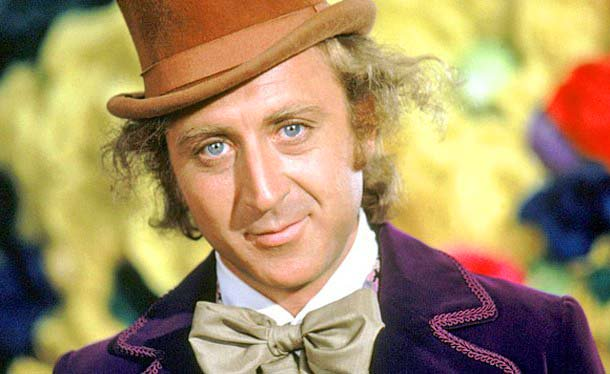 Gonna miss the original WillyWonka. GeneWilder dead today at 83. World was a sweeter place with him in it.