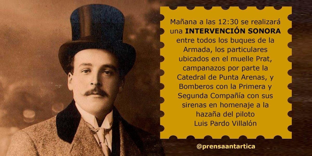 RT @prensaantartica Atención Punta Arenas, favor difundir esto entre sus contactos, para no causar alarma por el ruido #puq #PilotoPardo