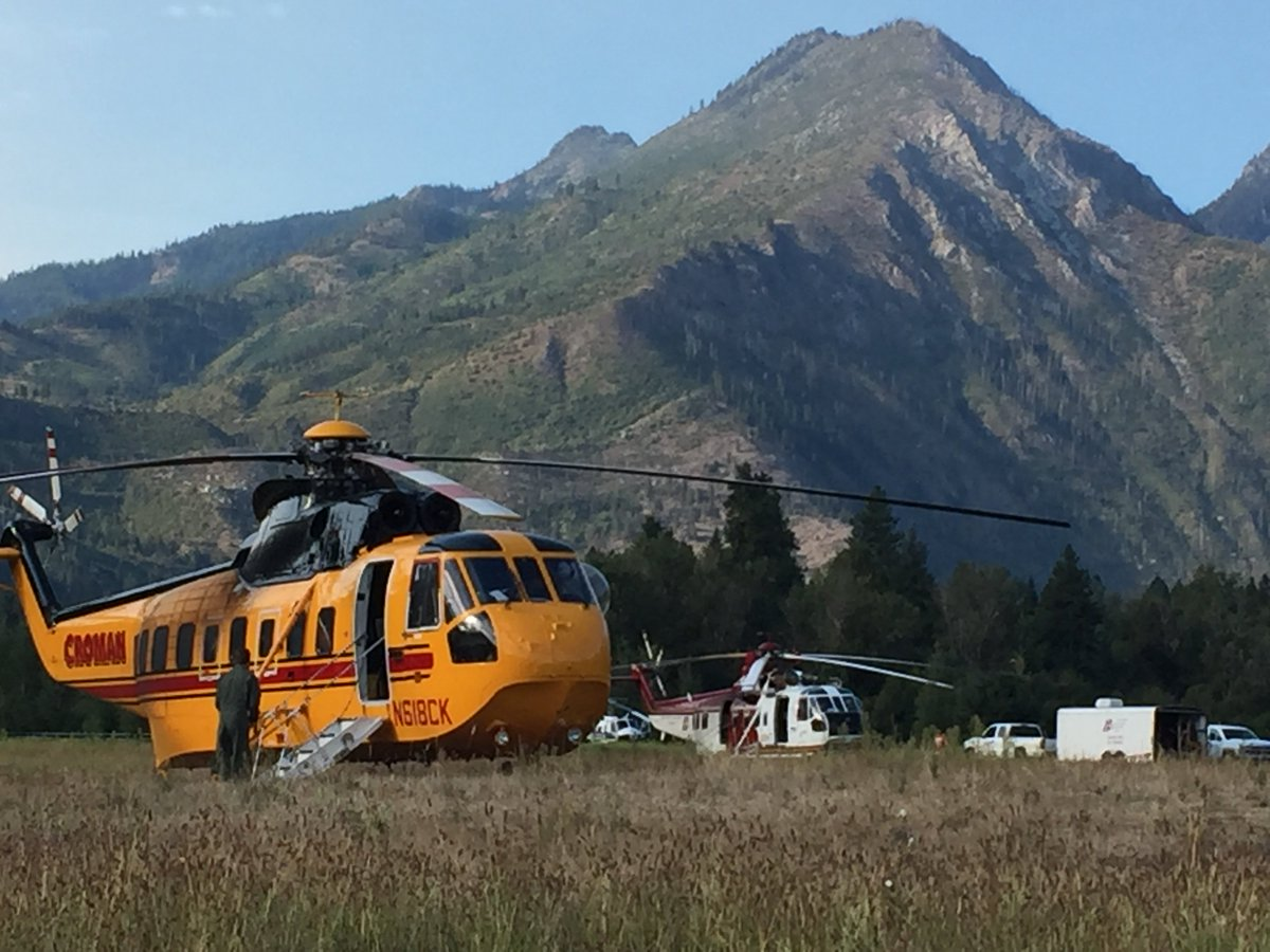 WaWILDFIRE UPDATE- SuncrestFire by Leavenworth 50% contained, 496 ac., 368 on scene, sending some FFs, helos home