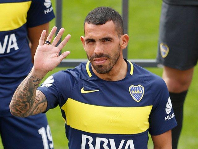 Image result for karlos tevez Boca Juniors
