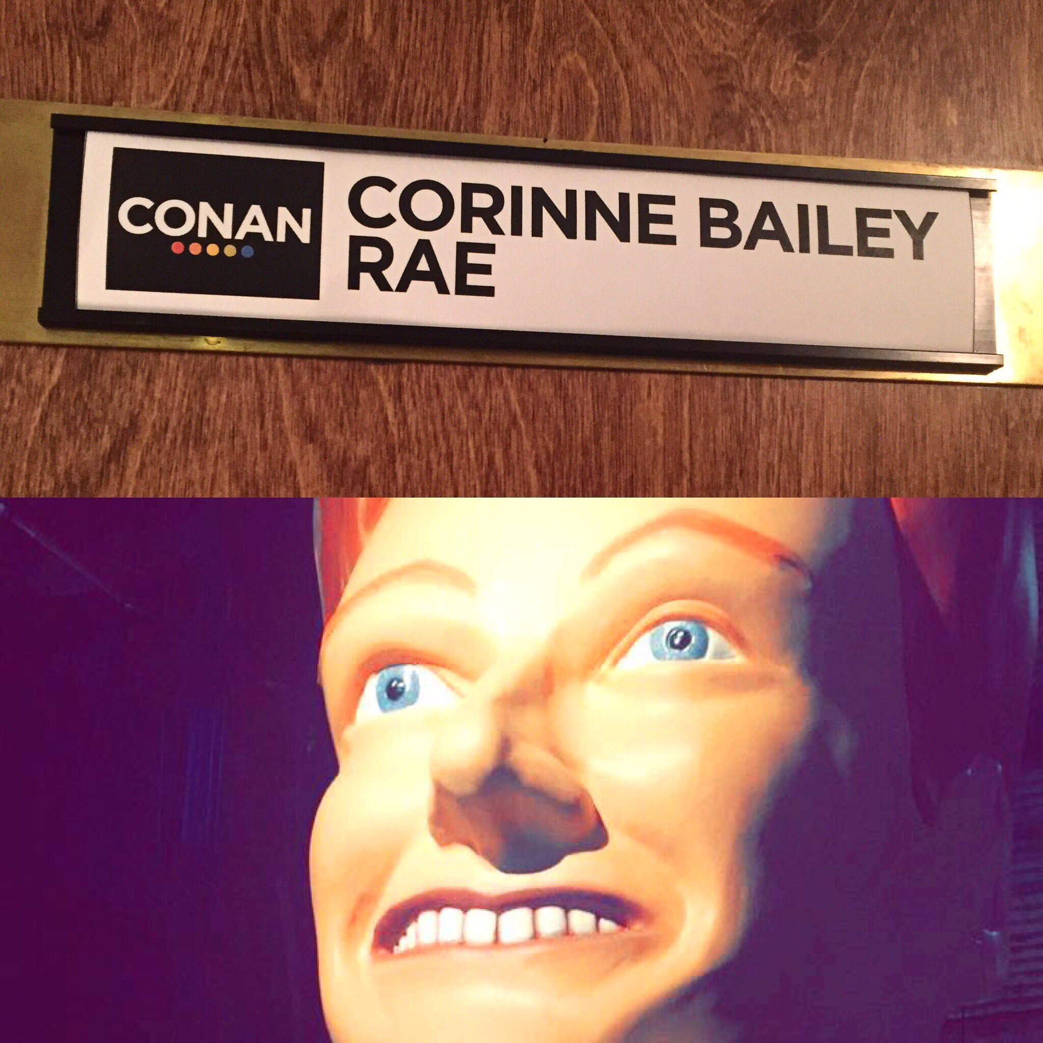 Looking forward to performing at @TeamCoco and seeing his crazy hair! 😁 Tune in tonight at 11/10c! #Conan https://t.co/D2vRZql2Nt