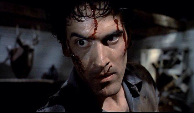 Don't miss Sam Raimi's 1987 zombie classic EVIL DEAD 2 in #35mm, 9pm tonight! Starring @GroovyBruce as Ash Williams https://t.co/3wYaoXiklC