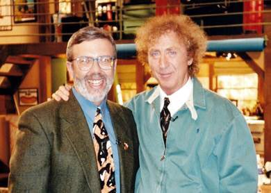 Gene and I in 1994. This is such a wonderful memory for me. I'll cherish it always... #GeneWilder https://t.co/ravuoBOZnr