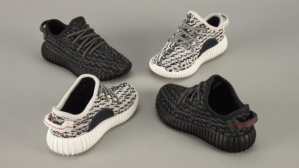 7208d9287d0 kanye west debuts 130 baby yeezys