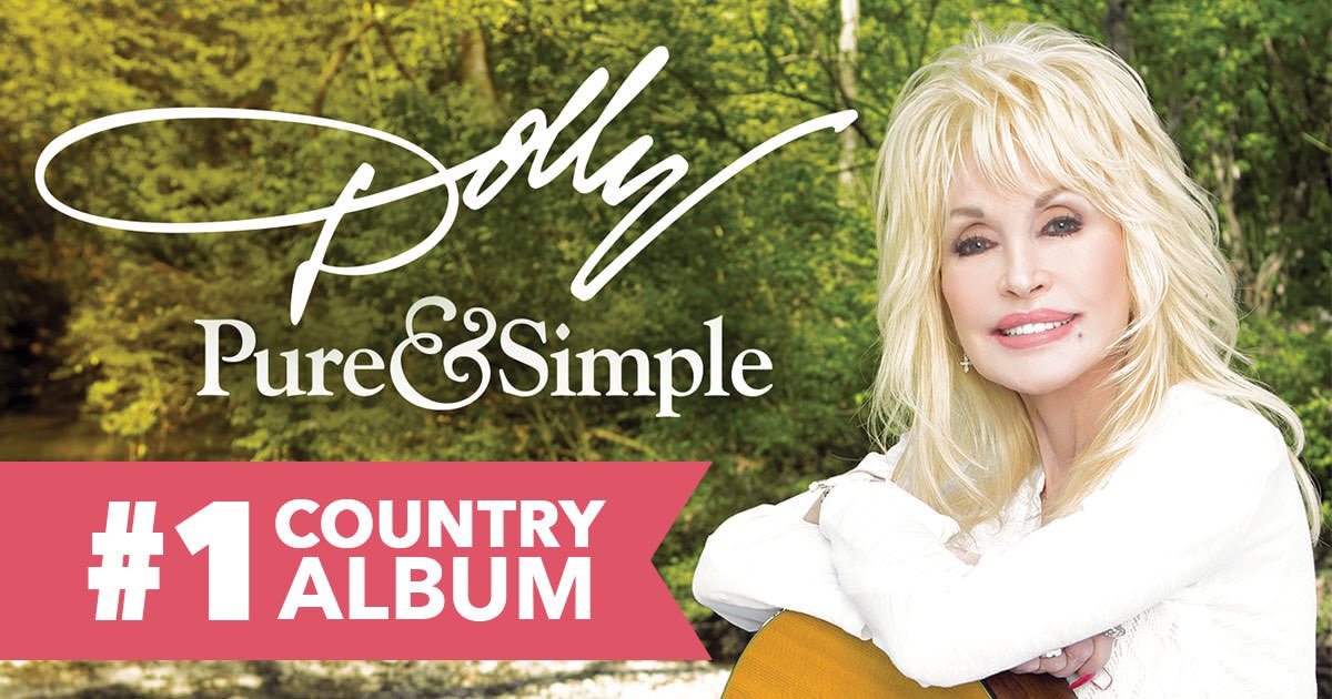 It feels great to be #1 and I want to thank all of you for being the best fans in the world! Love, Dolly https://t.co/VFNh0IWEJU