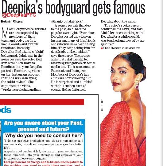Deepika Padukone Bodyguard Jalal Instagram - Deepika ...