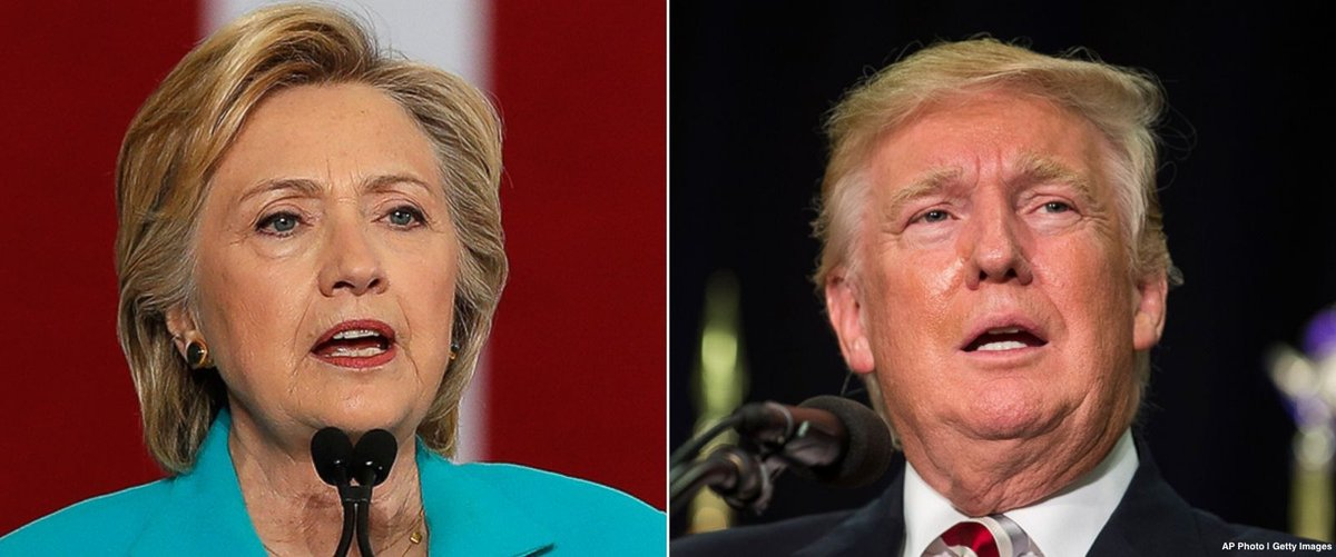 Clinton's lead over Trump tightens to 7 percentage points in new national poll
