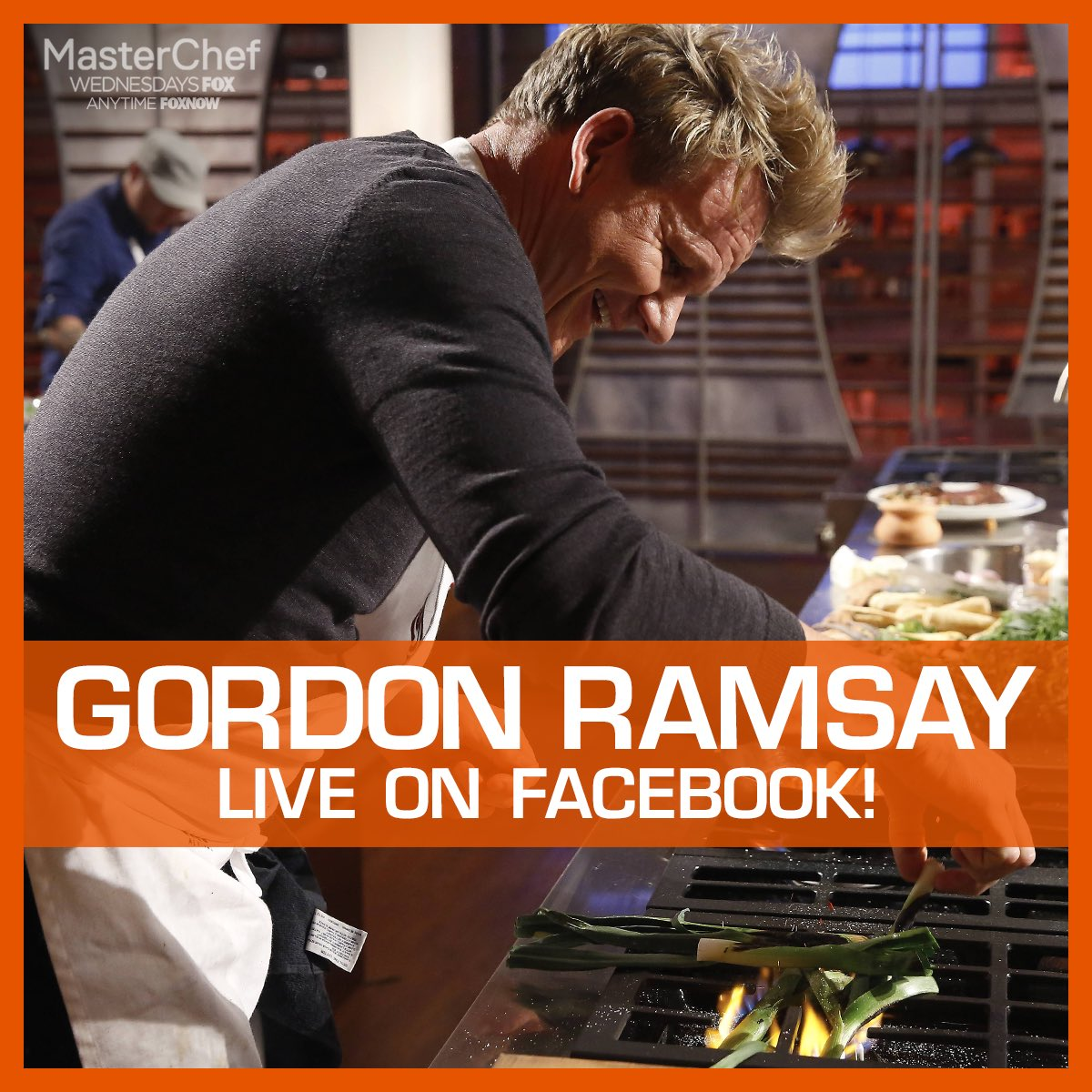 Join me tomorrow at 4 PM EST/1PM PST as I go live on Facebook to demo a dish from this week's @MASTERCHEFonFOX ! https://t.co/grZn0DAtwu