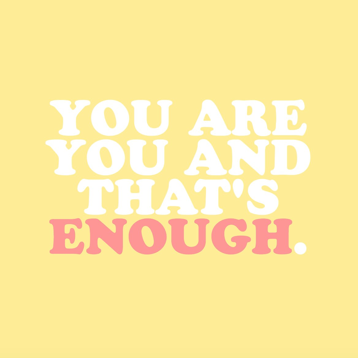 The Trevor Project On Twitter You Are You Thats Enough If