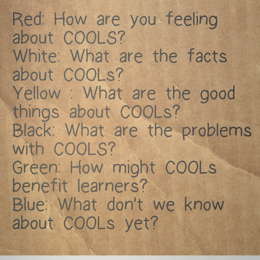 Thumbnail for Discussing COOLs (1 Sept 2016) #ldrchatnz