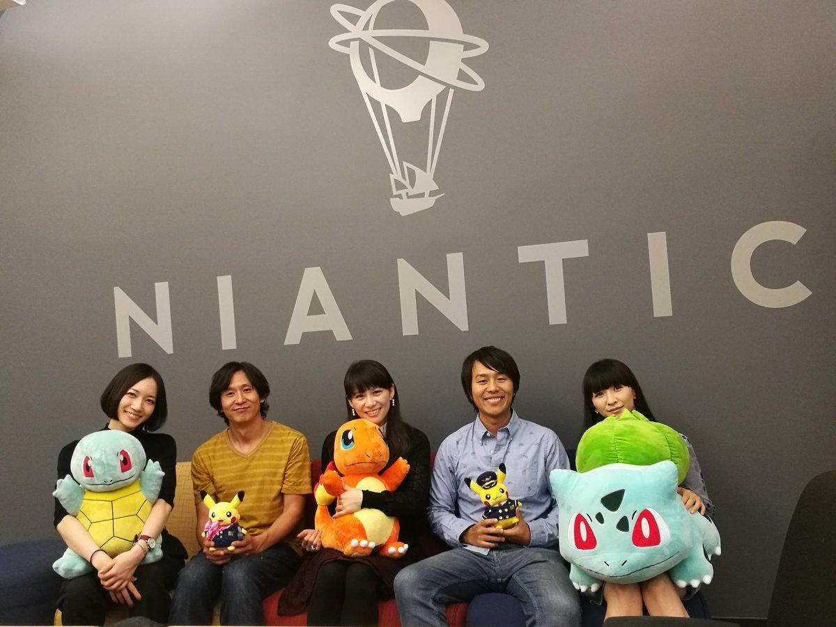 """川島 優志 masa kawashima on twitter: """"perfume & niantic! 3人"""