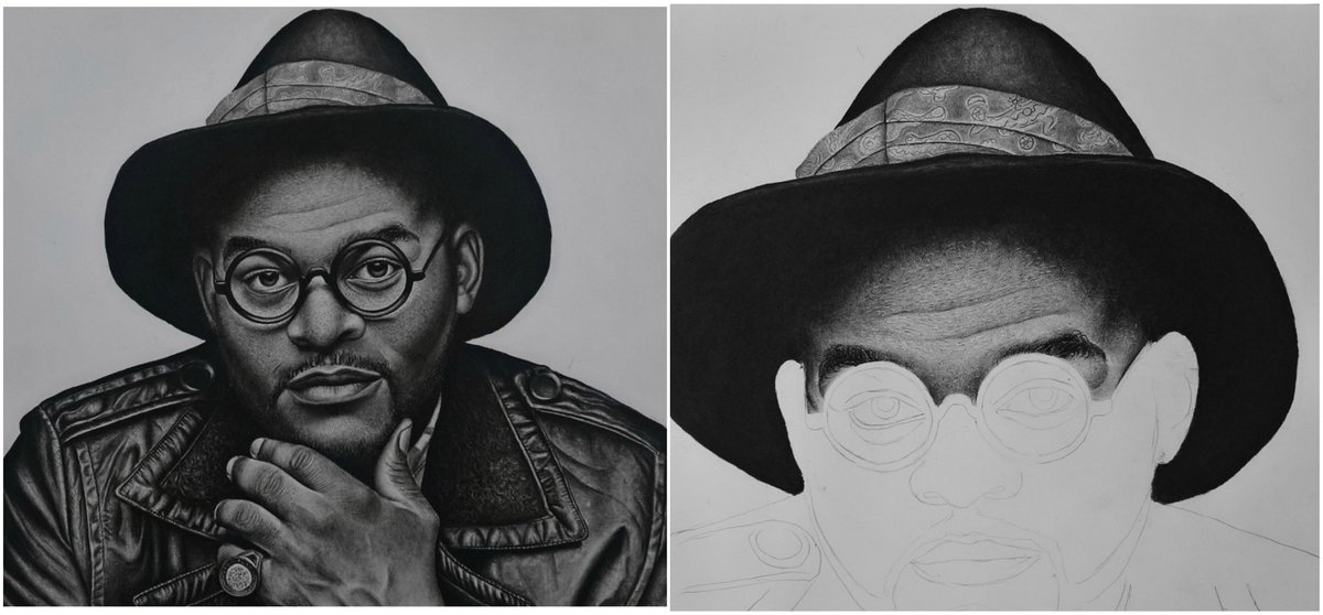 Yblnigeria on twitter nigerian geniuses see the works of nigerian artist richard who combines pencil